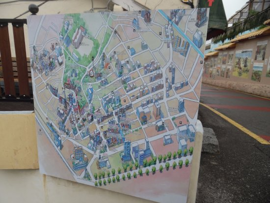 Map Of China And Surrounding Areas.Map Of China Town And Surrounding Area Picture Of Chinatown