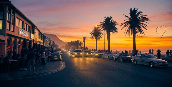 Image result for camps bay sunset