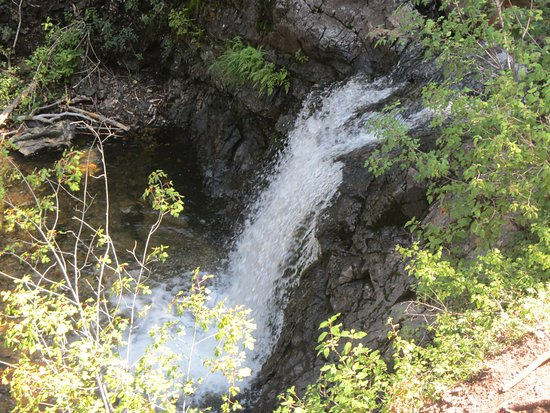 Eagle Nest, NM: View several waterfalls along Clear Creek Canyon Trail.