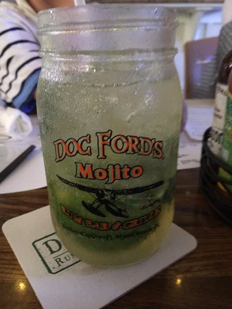Doc Ford's Rum Bar & Grille Captiva: Memorable Mojitos!
