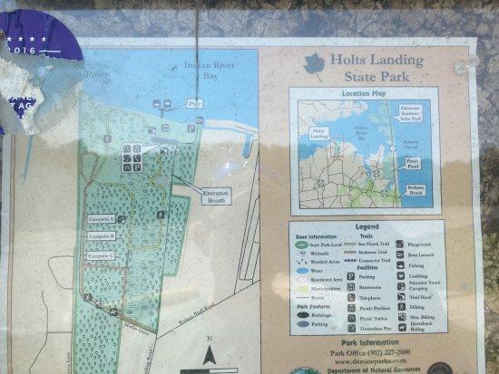 Millville, DE: Map