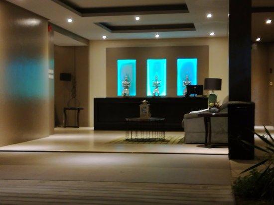 Palo, Philippines: hall de réception d'une des ailes secondaires