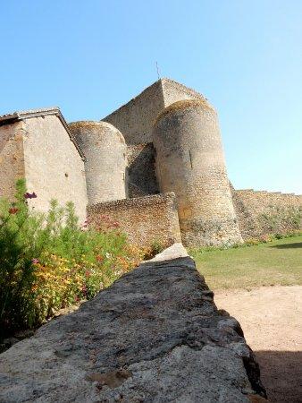 Un aperçu du château de Semur en Brionnais