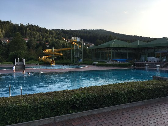 Lam, Allemagne : Outside swimming pool