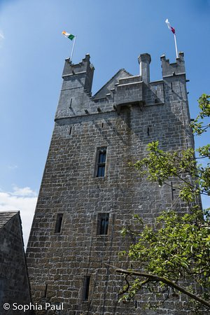 Claregalway, Ιρλανδία: The tower as seen from the court yard.