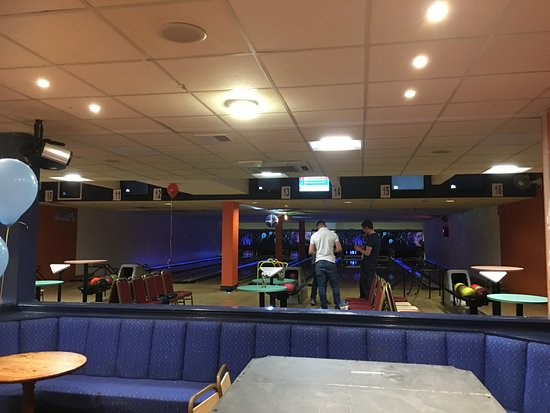 Orpington Bowling Palace interior