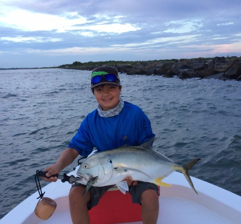 Φορτ Πιρς, Φλόριντα: 17lbs Jack! My son was very excited!