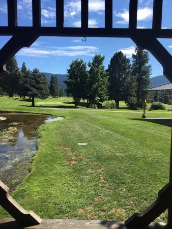 Mount Shasta Resort: Vistas desde el campo de golf