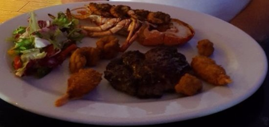 Gosforth, UK: Surf & turf