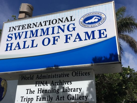 The Pool Was Good But Closed To Public Bild Von International Swimming Hall Of Fame Fort