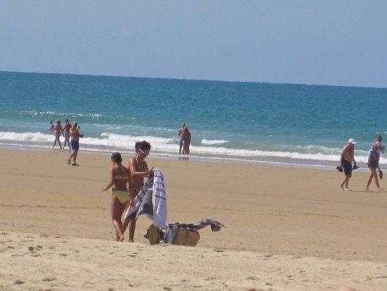 Hipotels Barrosa Park: Praia