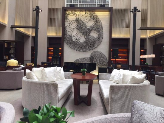 Hyatt Regency Kinabalu: Next to the lobby. You can relax here