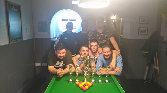 Athy, Irland: Kildare Summer Pool League Final