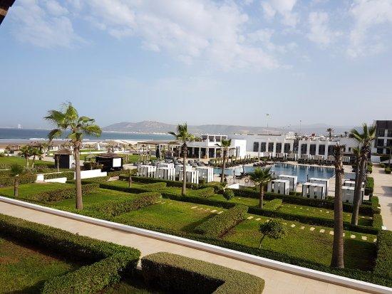 Hotel Sofitel Agadir Thalassa Sea & Spa: vue de notre chambre