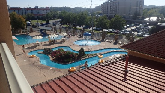 Music Road Resort Inn: View from our Balcony....
