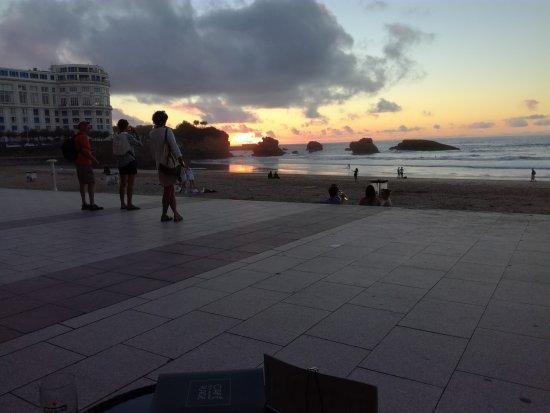 Le Windsor Grande Plage Biarritz Bild