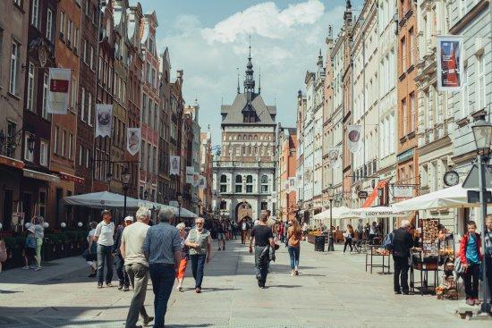 Gdansk, Poland: Dluga Street