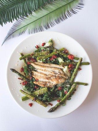 Grandville, MI: Zucchini Kale Pesto Salad