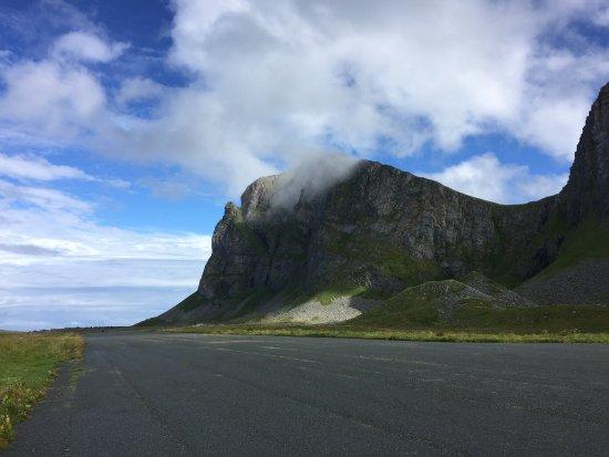 Vaeroy, Norway: Airfield, Nordlandshagen, Værøy, Lofoten, Northern Norway