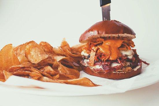 Grandville, MI: Kimchi Reuben Burger