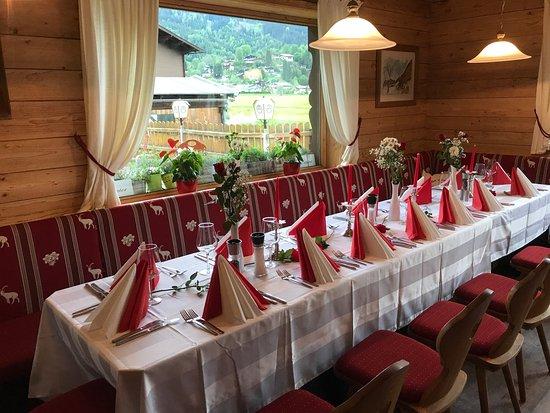 """Reith bei Kitzbuehel, Austria: Hier sind wir im Reitherl Mit den """"Wirtsleut"""" Roman und Anna Frische Pilze aus heimischen Wäl"""