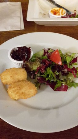 Пеуси, UK: Goats Cheese Croquettes