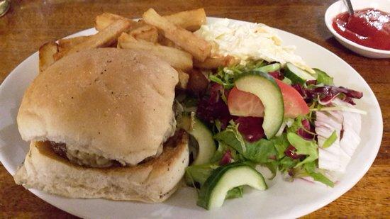 Pewsey, UK: Burger