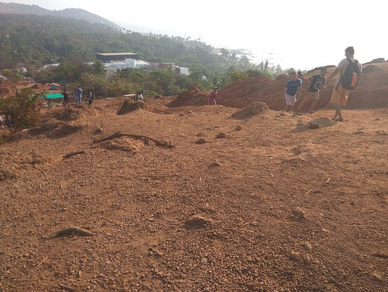 Chapora, Indien: climbing way