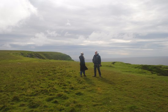 Унст, UK: Cliffs at Hermaness, Unst
