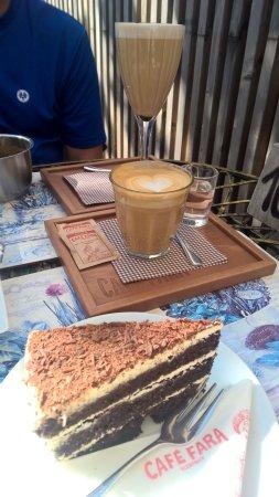 Klentnice, Repubblica Ceca: Káva a čokoládový rortík