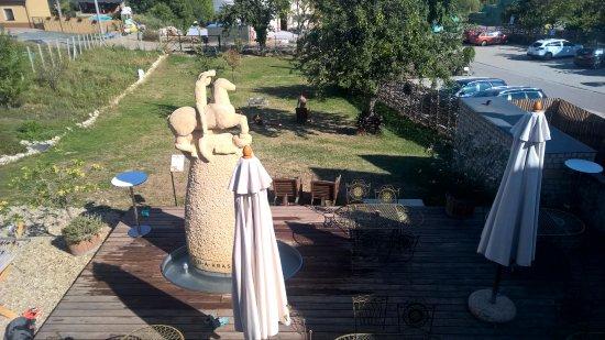 Klentnice, Repubblica Ceca: Terasa se zahradou