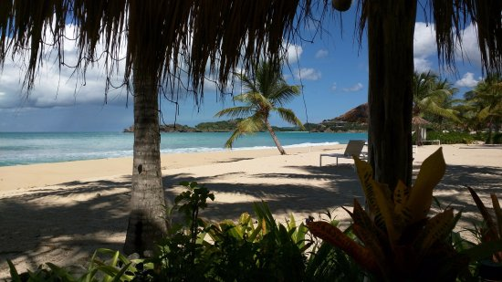 Five Islands Village, Antigua: View from a table at the Gauguin.