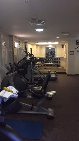 The Grand Hotel: Gym
