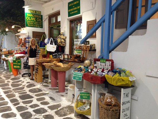 Narcissus Olive Oil Shop