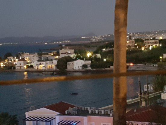 Panorama Hotel - Chania: View from restaurant