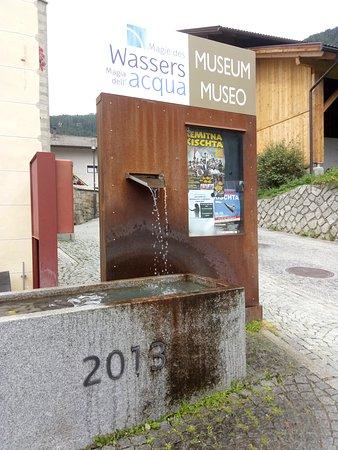 Selva dei Molini (Muehlwald), Italien: Museo dell'acqua