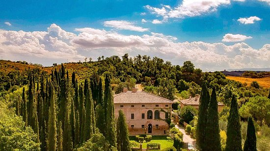 Villa Armena Luxury Relais: Villa Armena from the sky