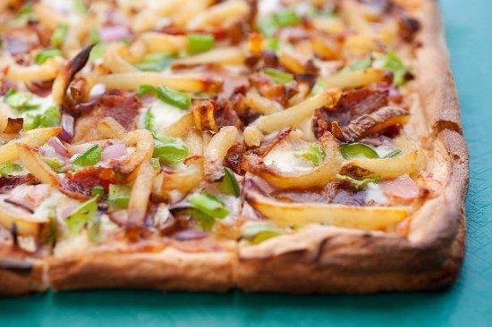 Ellicott City, MD: Breakfast Pizza