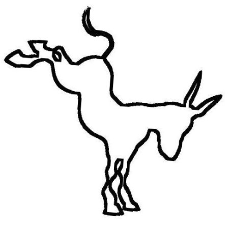 The Kicking Donkey: Logo
