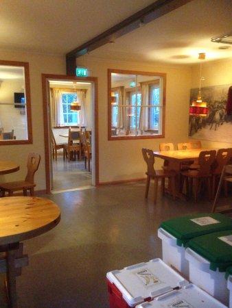 Grovelsjon, Sweden: Self Catering Dining Room in the Annex