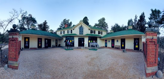 The Aiken Thoroughbred Racing Hall of Fame & Museum is located inside historic Hopelands Gardens