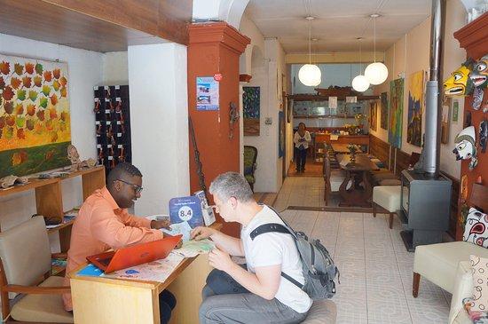 Hostal Quito Cultural: Reception