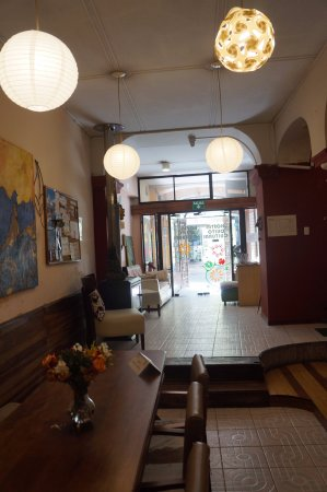 Hostal Quito Cultural: dining room