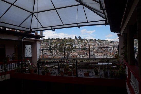 Hostal Quito Cultural: Rooftop