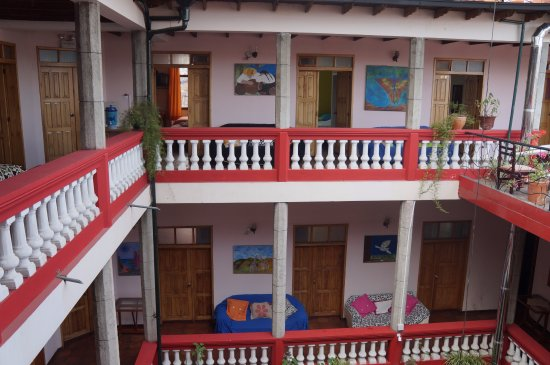 Hostal Quito Cultural: View from 3 floor