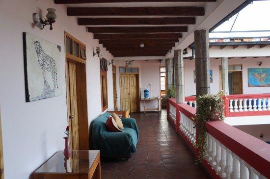 Hostal Quito Cultural: Third floor
