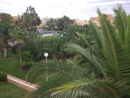 Apartamentos Moguima: view from our balcony