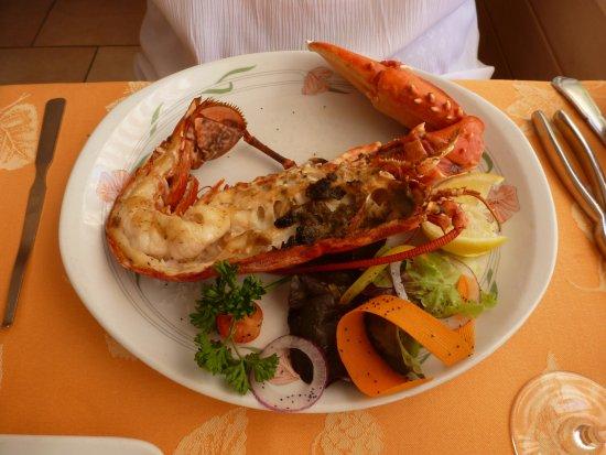 Saint-Vincent-sur-Jard, Francia: Homard au beurre coraillé