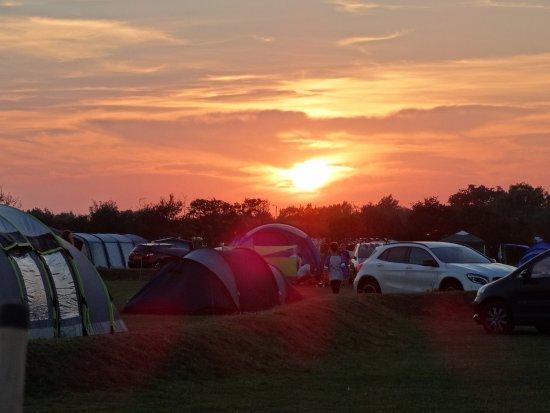 The Hollies Camping & Leisure Resort: Sunset