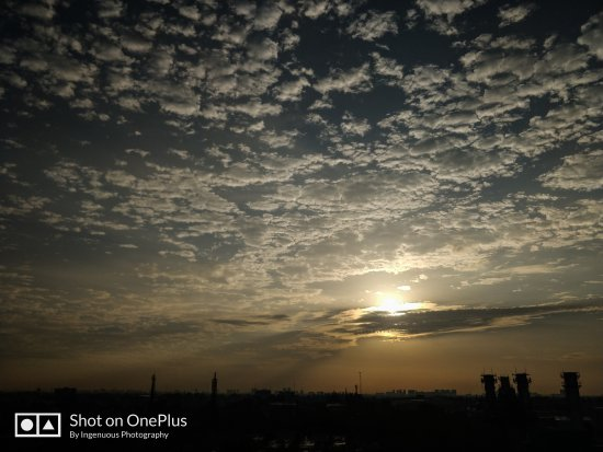 Gurgaon District, อินเดีย: Few shots of skyscape from my office